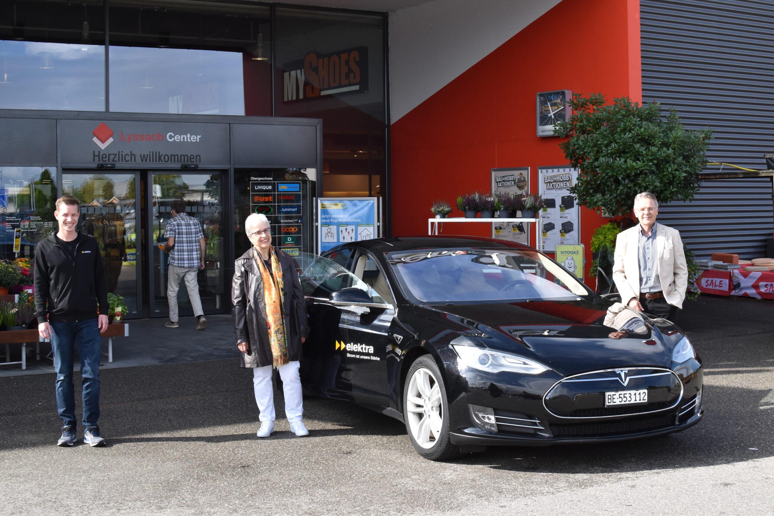 Wettbewerbsgewinnerin Frau Schori hat an der Mobility Week 2020 den ersten Preis gewonnen.
