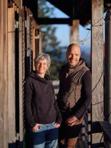 Isabelle und Lukas Loosli.