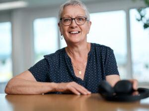 Ruth Beer hat den Kundenservice der Elektra lange geprägt. Jetzt ist die Zeit gekommen, die Kopfhörer an den Nagel zu hängen.