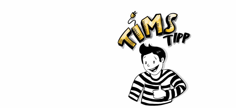 Tims Tipp zum Energie sparen